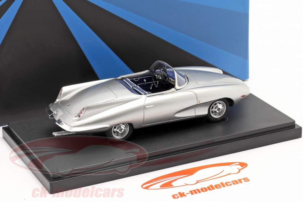 Fiat Stanguellini 1200 Spider America Bertone Anno di costruzione 1957 argento 1:43 AutoCult