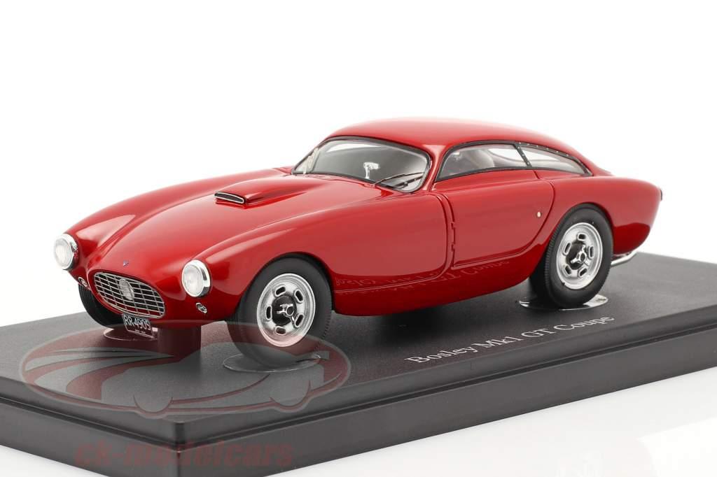 Bosley Mk1 GT Coupe Año de construcción 1955 rot 1:43 AutoCuilt