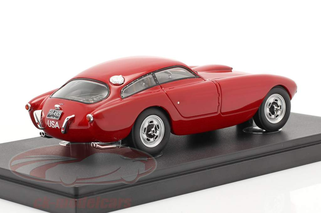 Bosley Mk1 GT Coupe Bouwjaar 1955 rot 1:43 AutoCuilt