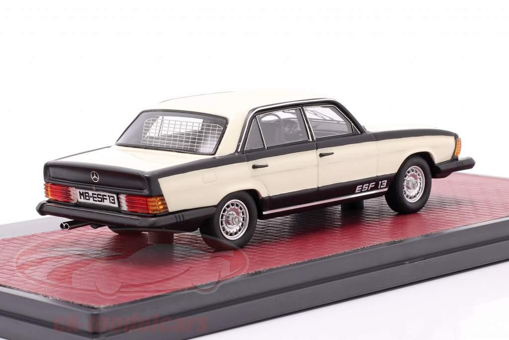 Mercedes-Benz ESF 13 Bouwjaar 1972 Wit / zwart 1:43 Matrix