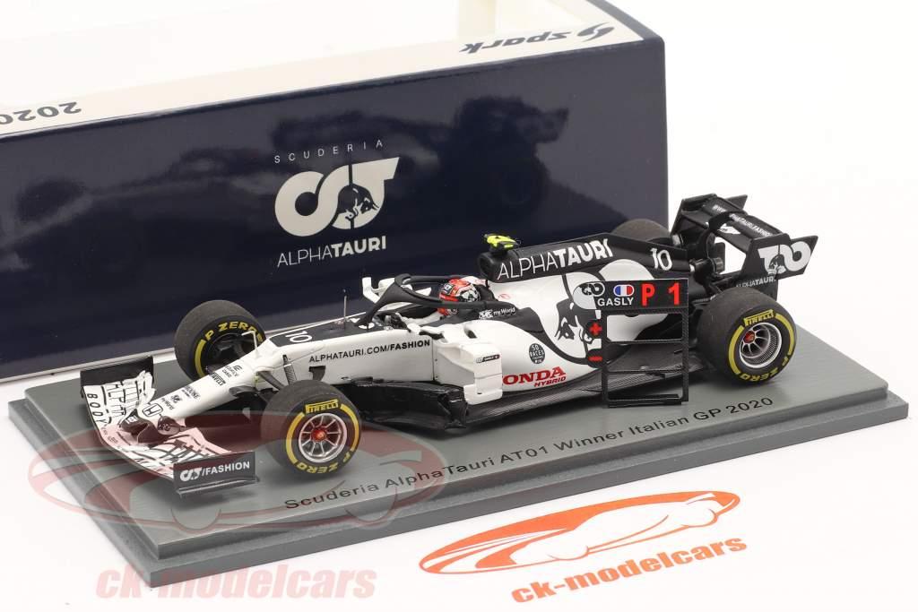 Pierre Gasly Alpha Tauri AT01 #10 ganador italiano GP fórmula 1 2020 1:43 Spark