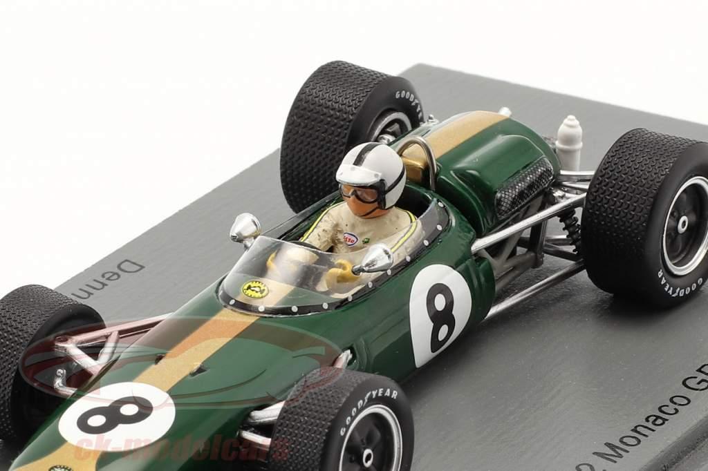 Denis Hulme Brabham BT11 #8 Monaco GP Fórmula 1 1966 1:43 Spark