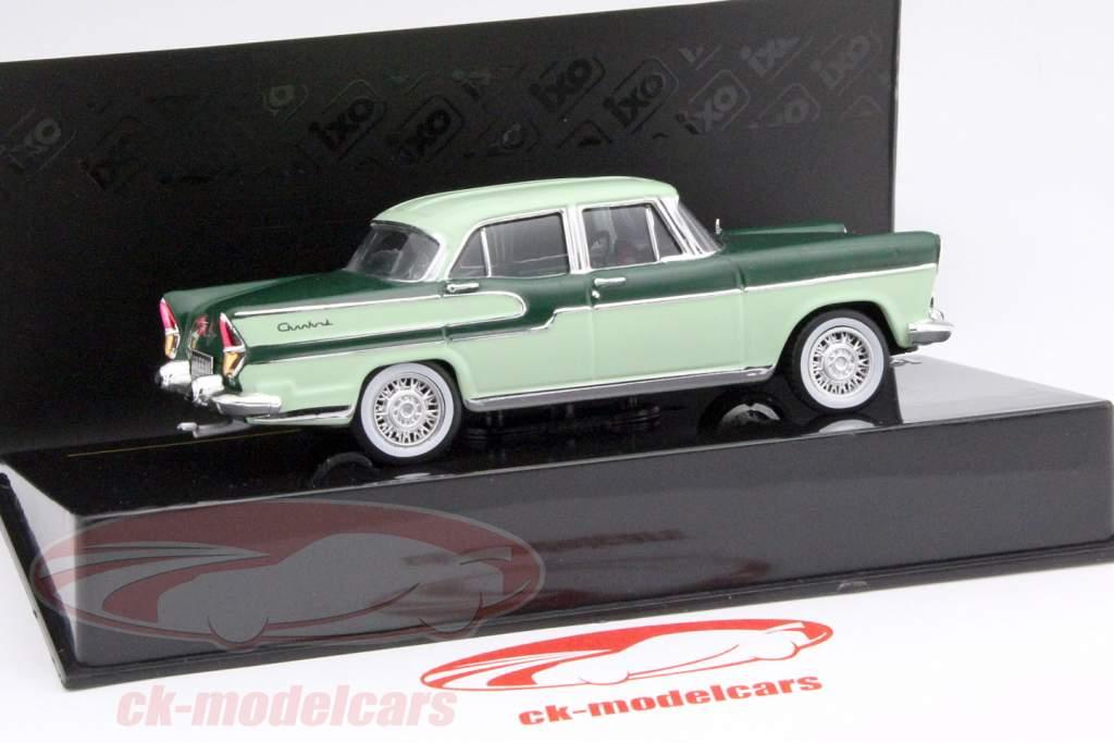 Simca Chambord Baujahr 1958 dunkelgrün / hellgrün 1:43 Ixo / 2. Wahl