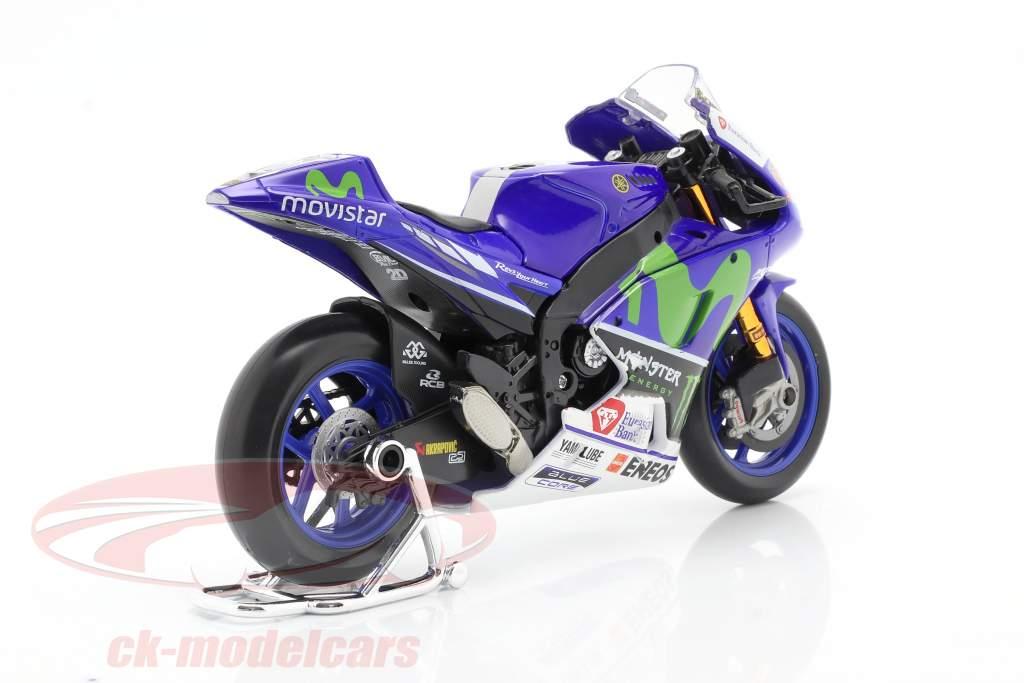 Valentino Rossi Yamaha YZR-M1 #46 MotoGP 2016 1:10 Maisto
