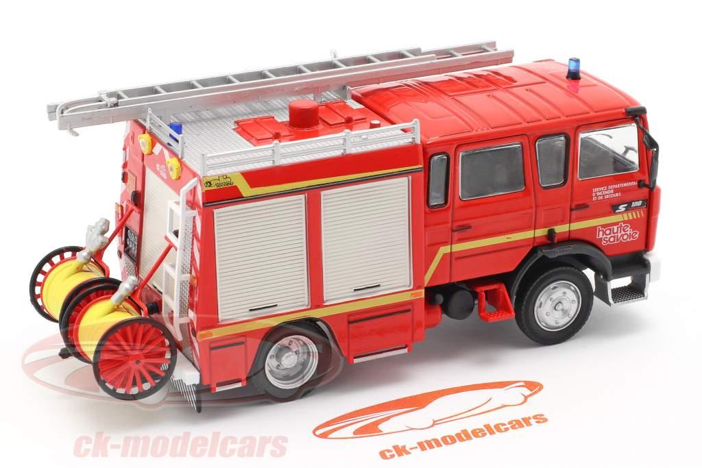 Renault VI S180 Metz Feuerwehr SDIS Haute Savoie rot 1:43 Altaya