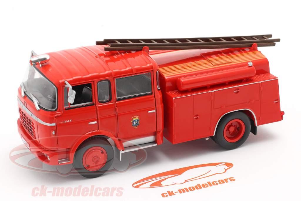 Berliet GAK 17 vigili del fuoco Madrid rosso 1:43 Altaya