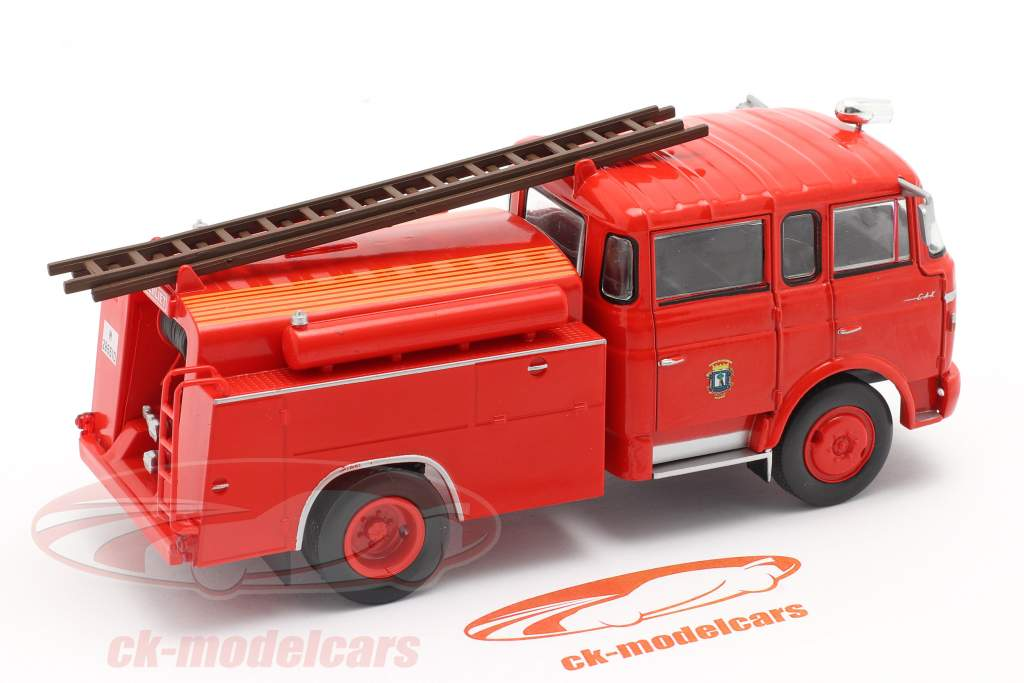 Berliet GAK 17 pompiers Madrid rouge 1:43 Altaya