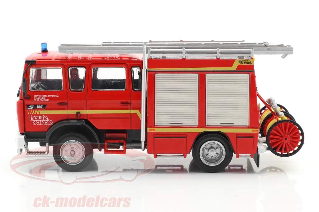 Renault VI S180 Metz fire Department SDIS Haute Savoie red 1:43 Altaya
