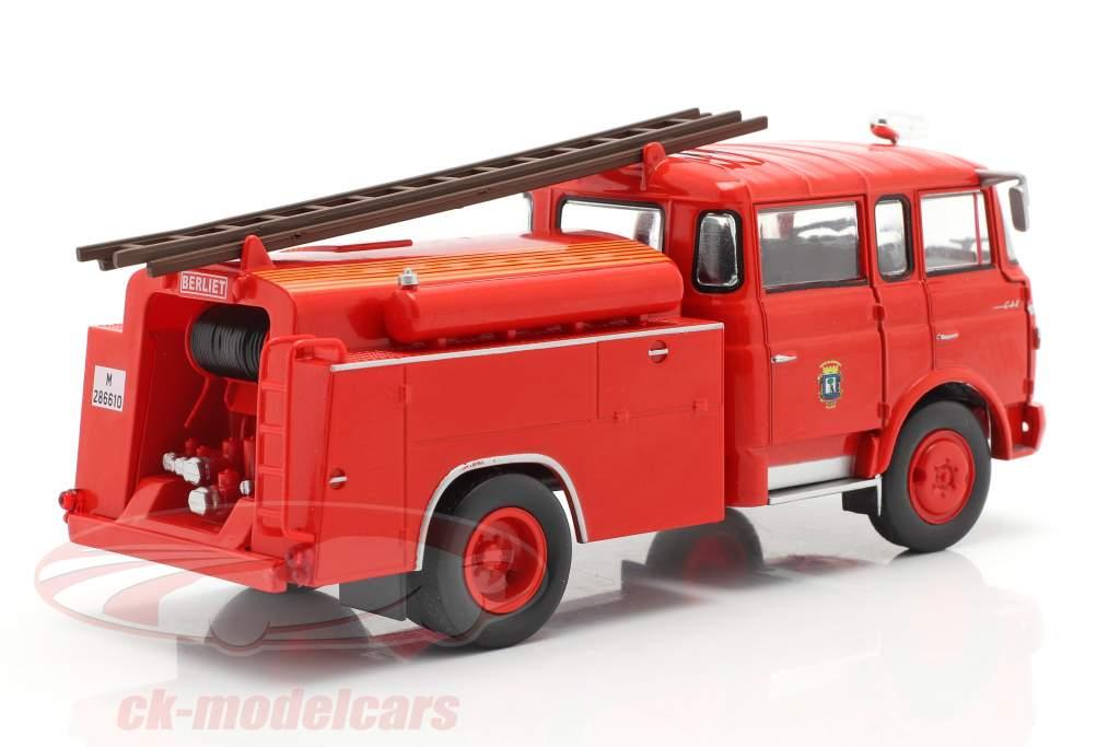 Berliet GAK 17 cuerpo de Bomberos Madrid rojo 1:43 Altaya