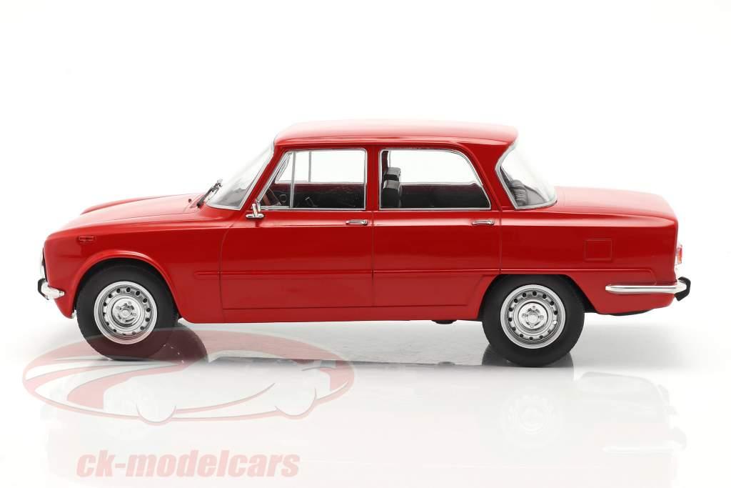 Alfa Romeo Giulia Nova Super Anno di costruzione 1974 rosso 1:18 Model Car Group