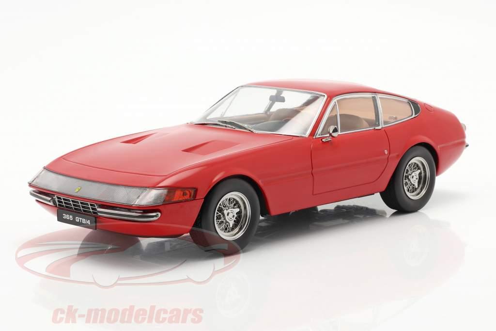 Ferrari 365 GTB/4 Daytona cupé Serie 1 1969 rojo 1:18 KK-Scale
