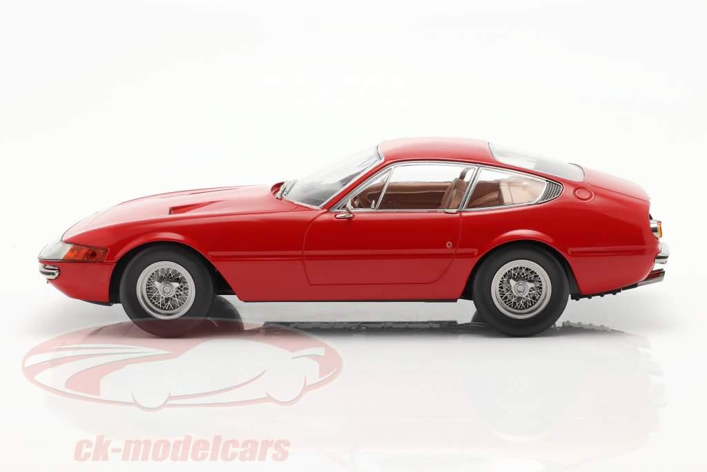 Ferrari 365 GTB/4 Daytona coupe Series 1 1969 red 1:18 KK-Scale