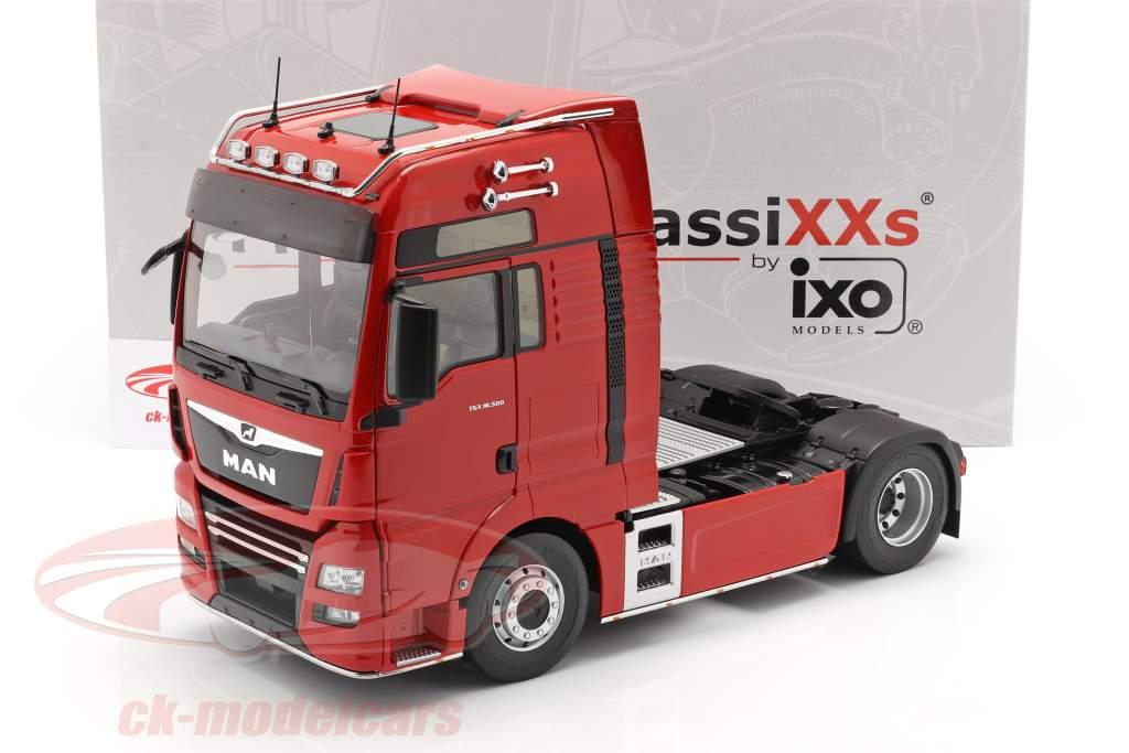 MAN TGX XXL Caminhão Ano de construção 2018 vermelho 1:18 Premium ClassiXXs