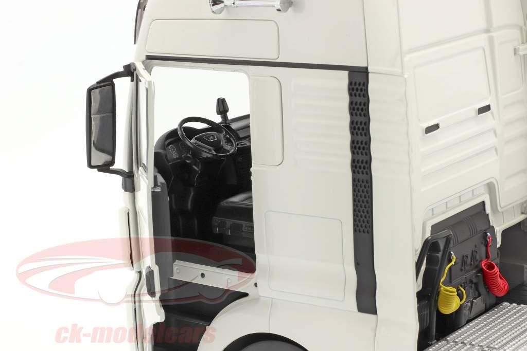 MAN TGX XXL Vrachtauto Bouwjaar 2018 Wit 1:18 Premium ClassiXXs