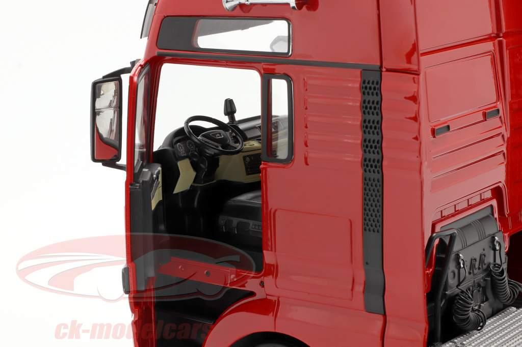 MAN TGX XXL Truck year 2018 red 1:18 Premium ClassiXXs