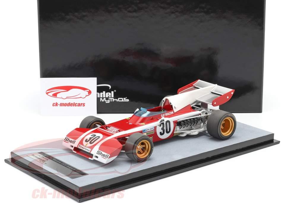 Clay Regazzoni Ferrari 312B2 #30 Belga GP fórmula 1 1972 1:18 Tecnomodelo