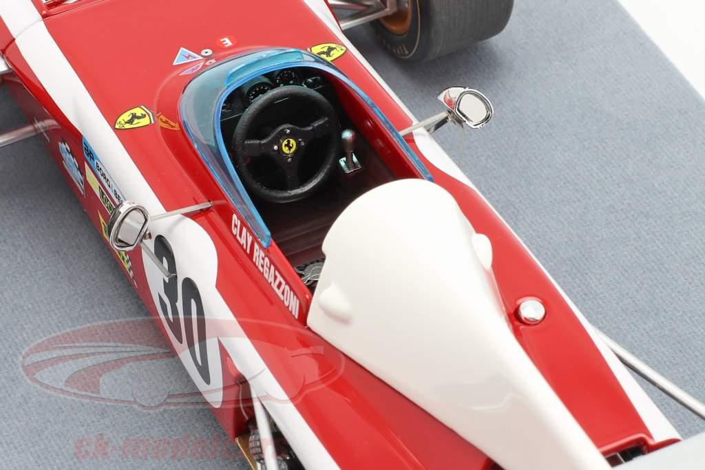 Clay Regazzoni Ferrari 312B2 #30 Belgisch GP formule 1 1972 1:18 Tecnomodel