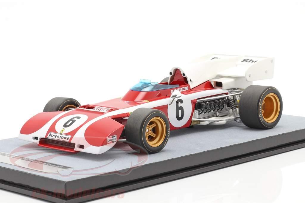 Clay Regazzoni Ferrari 312B2 #6 Syd afrikansk GP formel 1 1972 1:18 Tecnomodel
