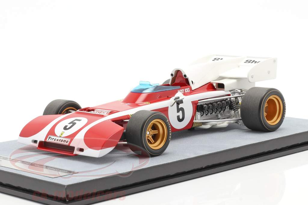 Jacky Ickx Ferrari 312B2 #5 Sud africano GP formula 1 1972 1:18 Tecnomodel