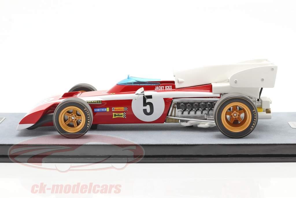 Jacky Ickx Ferrari 312B2 #5 Südafrika GP Formel 1 1972 1:18 Tecnomodel