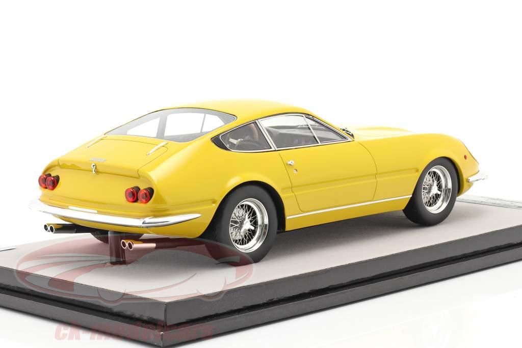 Ferrari 365 GTB/4 Daytona Prototipo 1967 modena giallo 1:18 Tecnomodel