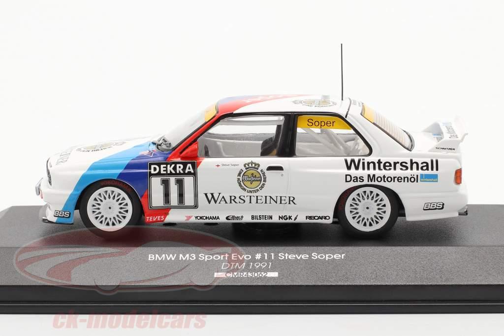 BMW M3 (E30) #11 DTM 1991 Steve Soper 1:43 CMR
