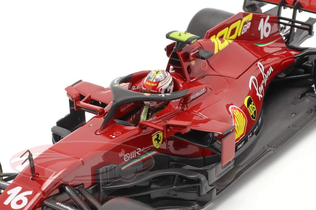 C. Leclerc Ferrari SF1000 #16 1000 GP Ferrari Toscana GP F1 2020 1:18 Bburago