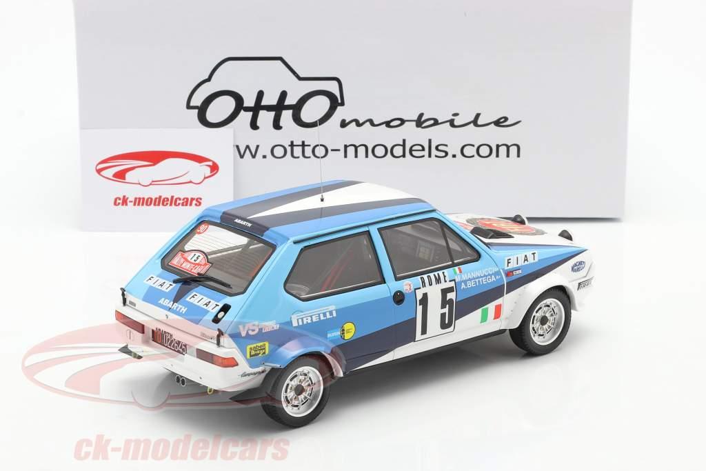 Fiat Ritmo 75 Abarth #15 6 ° Rallye Monte Carlo 1980 1:18 OttOmobile