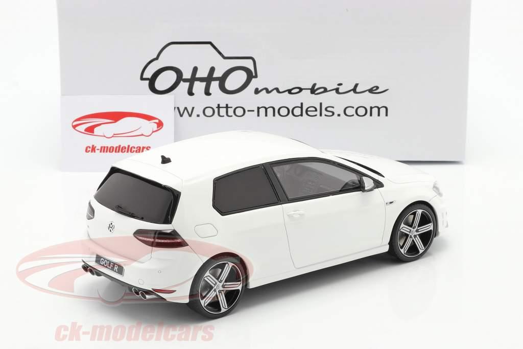 Volkswagen VW Golf VII R Ano de construção 2014 Branco 1:18 OttOmobile
