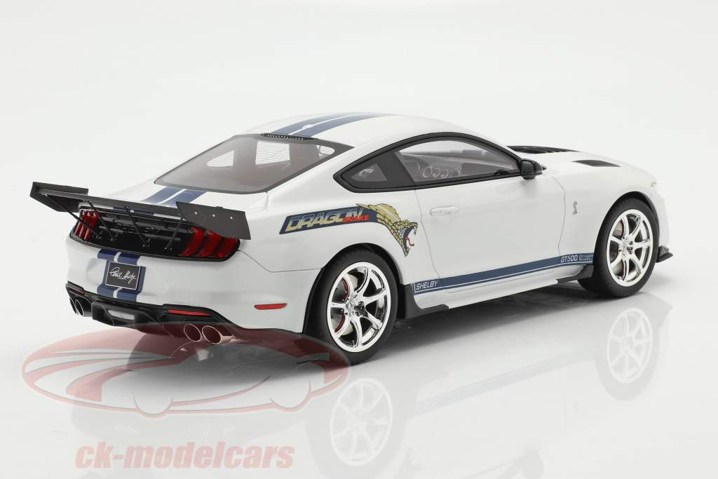 Ford Mustang Shelby GT500 Dragon Snake 2020 Oxford bianca 1:18 GT-Spirit