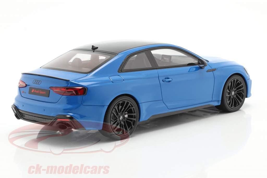 Audi RS 5 Coupe Année de construction 2020 turbo bleu 1:18 GT-Spirit