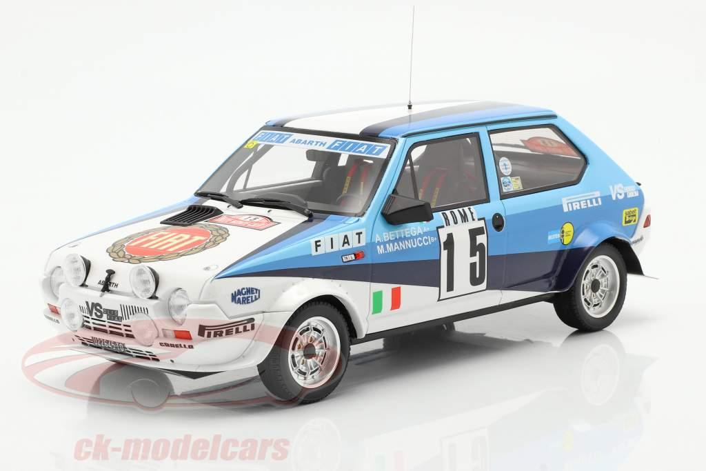 Fiat Ritmo 75 Abarth #15 Sexto Rallye Monte Carlo 1980 1:18 OttOmobile