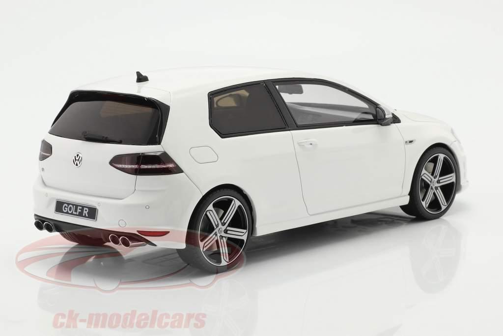 Volkswagen VW Golf VII R Baujahr 2014 weiß 1:18 OttOmobile