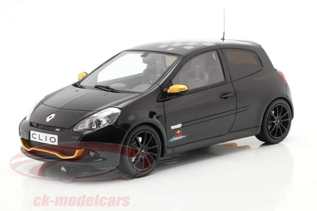 Renault Clio 3 RS RB7 Anno di costruzione 2012 nero 1:18 OttOmobile