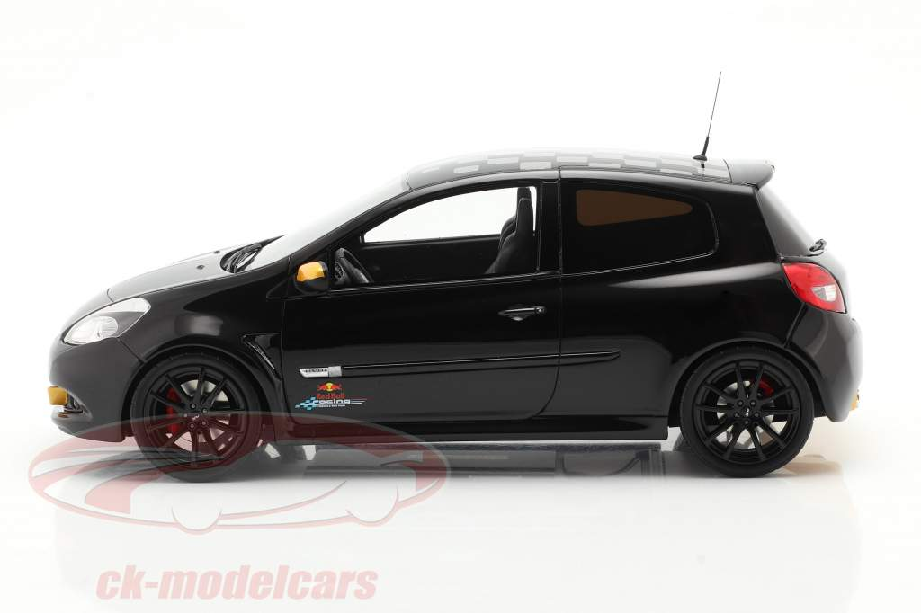 Renault Clio 3 RS RB7 Año de construcción 2012 negro 1:18 OttOmobile