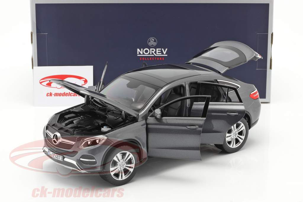 Mercedes-Benz GLE Coupe year 2015 grey metallic 1:18 Norev