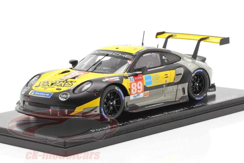 Porsche 911 RSR #89 24h LeMans 2020 Team Project 1 1:43 Spark