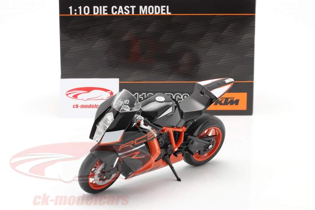 KTM 1190 RC8 R negro / naranja 1:10 Welly