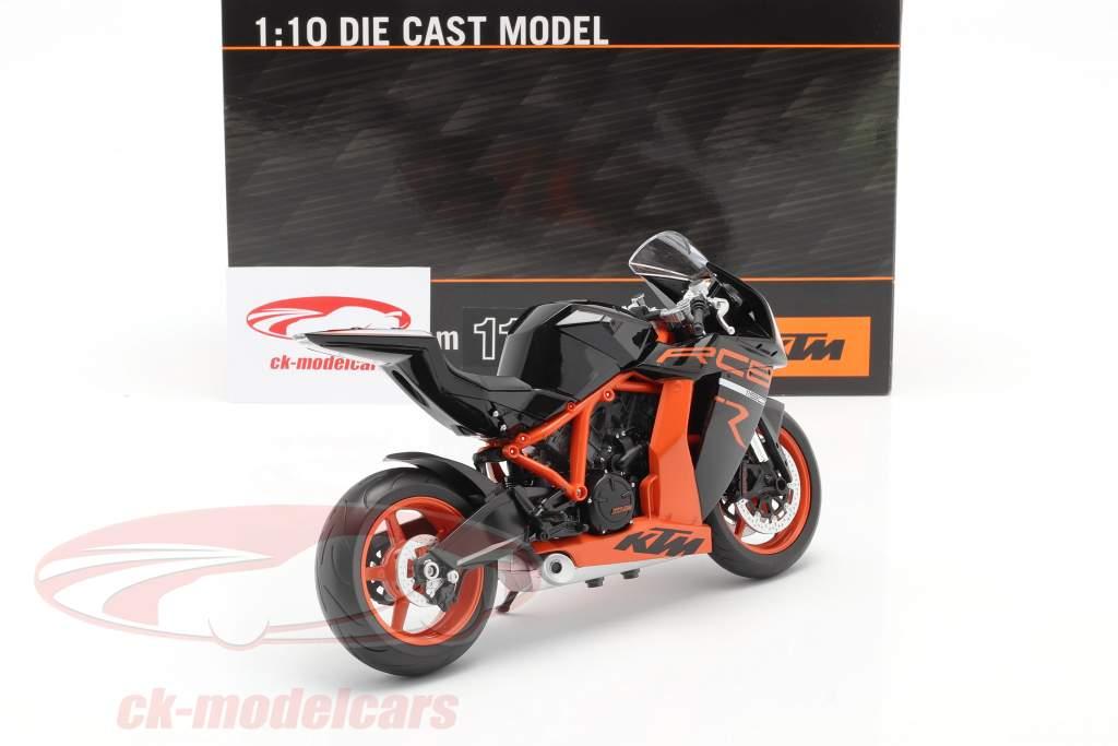 KTM 1190 RC8 R zwart / oranje 1:10 Welly