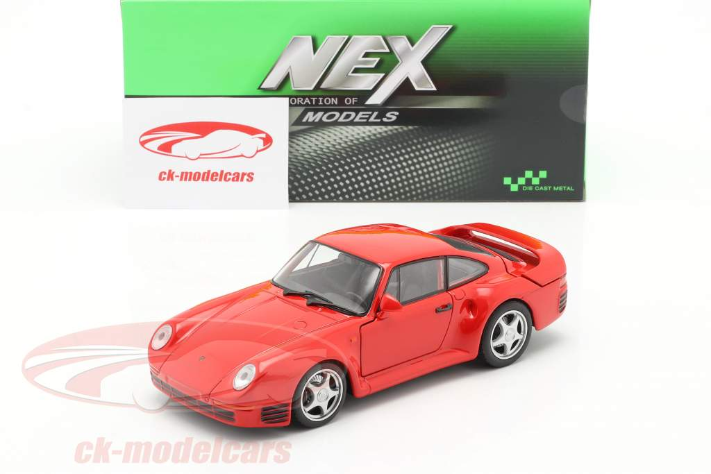Porsche 959 rot 1:24 Welly