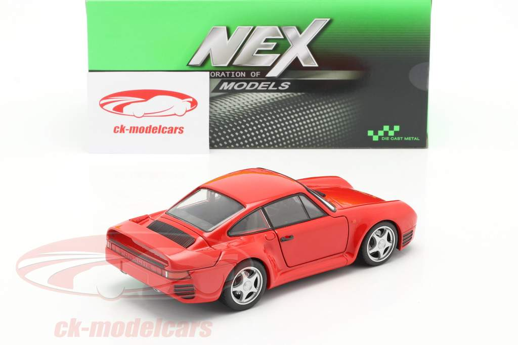 Porsche 959 rouge 1:24 Welly