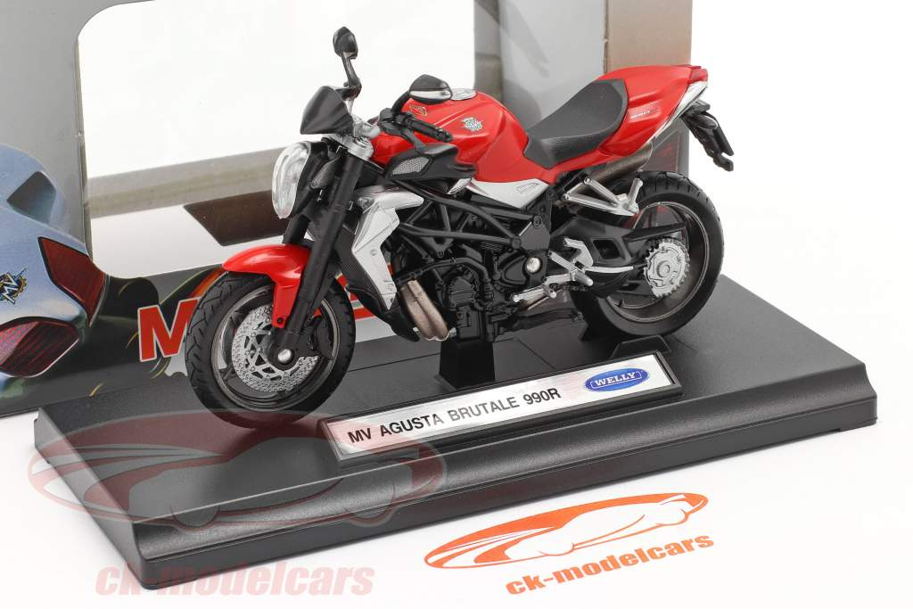 MV Agusta Brutale 990R rouge 1:18 Welly