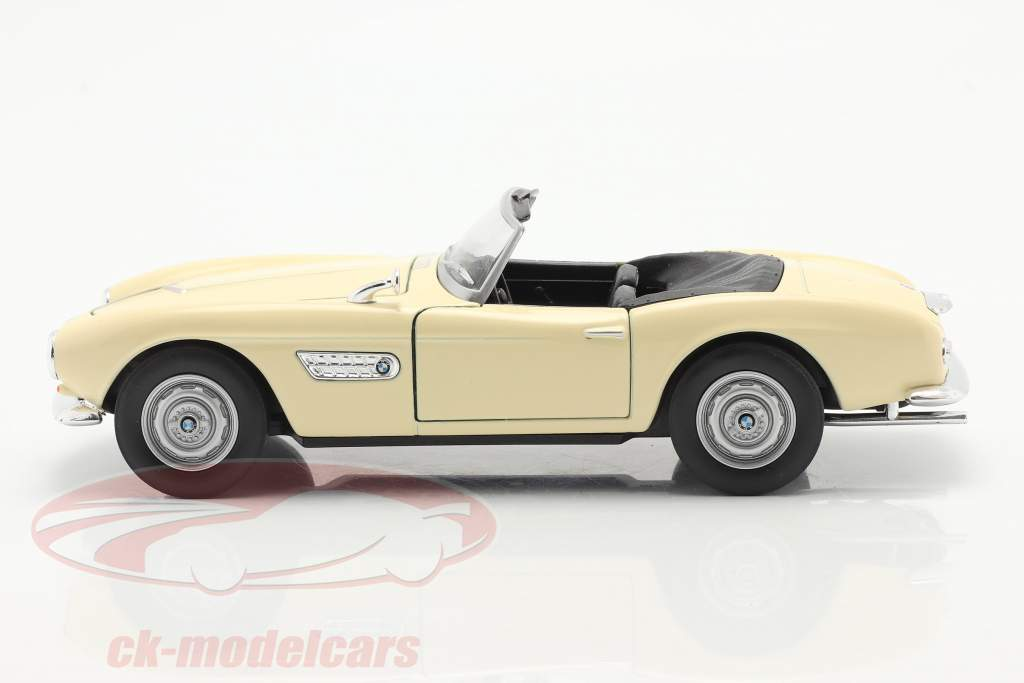 BMW 507 Cabriolet creme 1:24 Welly