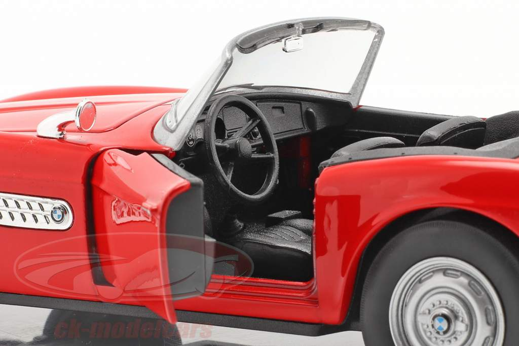BMW 507 Cabriolet Open Top rød 1:24 Welly