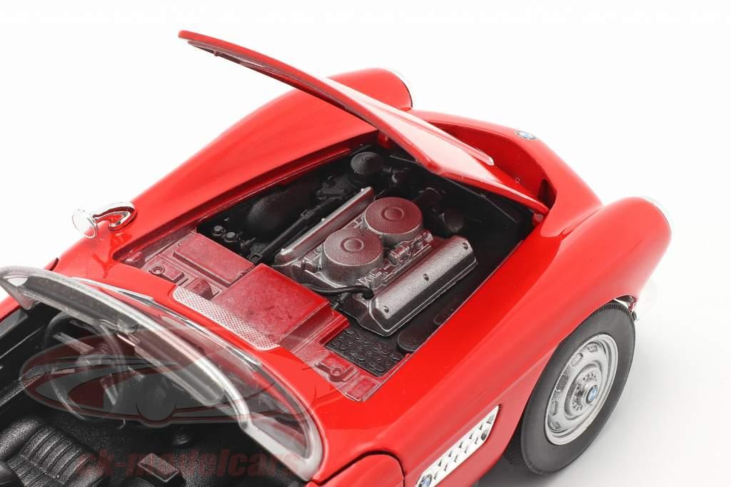 BMW 507 Conversível Open Top vermelho 1:24 Welly
