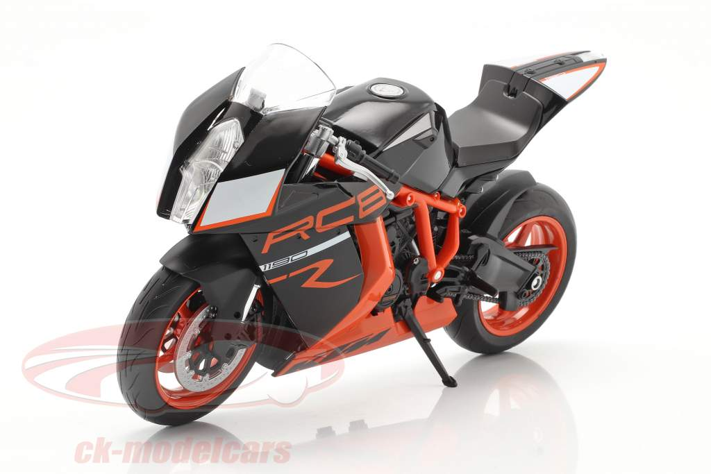 KTM 1190 RC8 R sort / orange 1:10 Welly