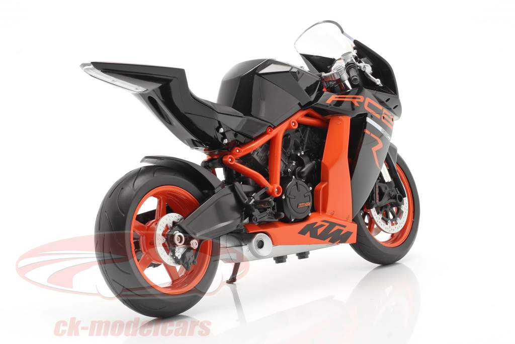 KTM 1190 RC8 R Preto / laranja 1:10 Welly