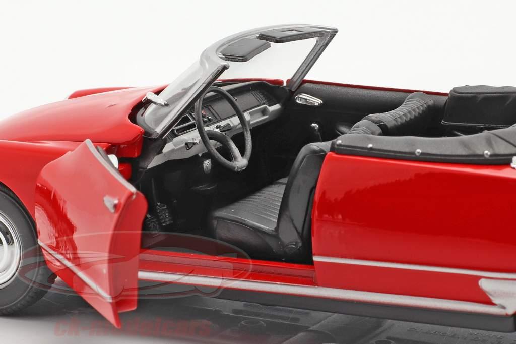 Citroen DS 19 Aperto Convertibile rosso 1:24 Welly