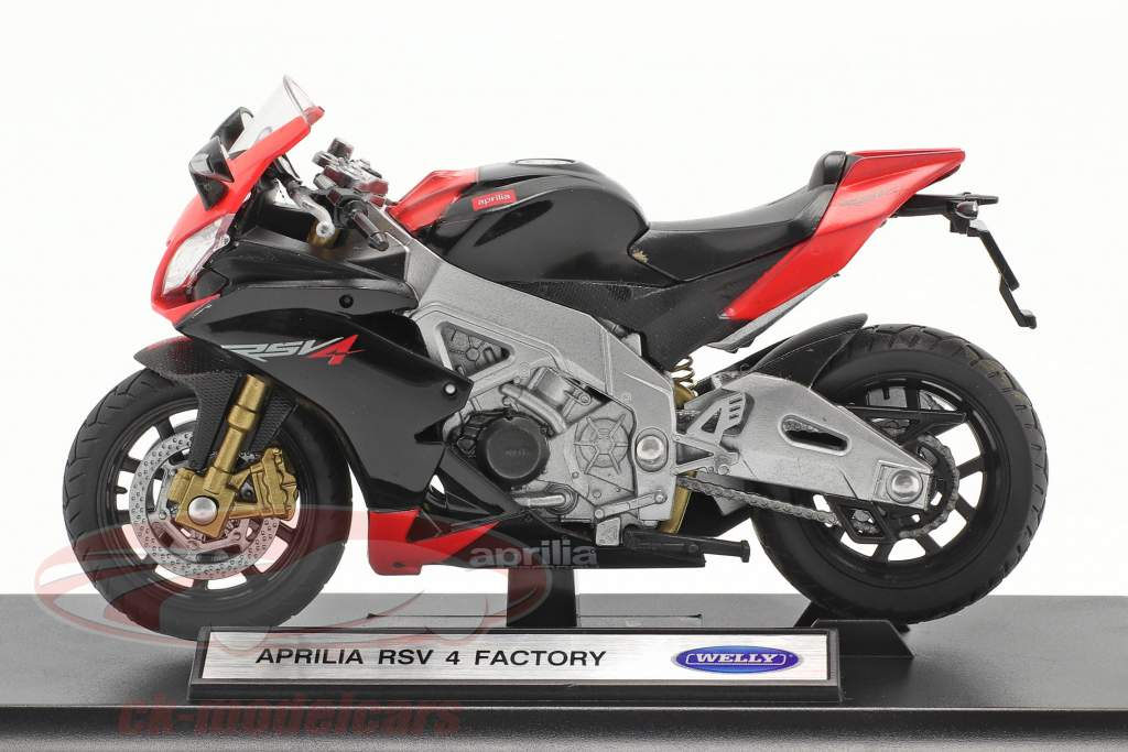 Aprilia RSV 4 Factory red / black 1:18 Welly
