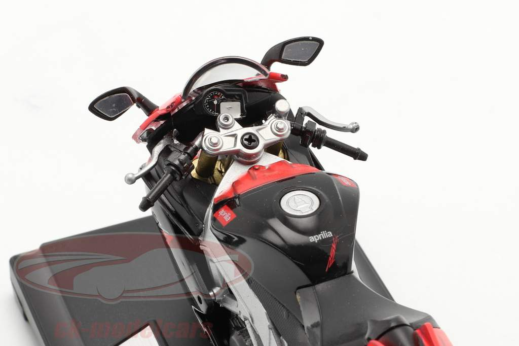 Aprilia RSV 4 Factory rød / sort 1:18 Welly
